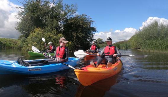 Guided Kayak Safaris