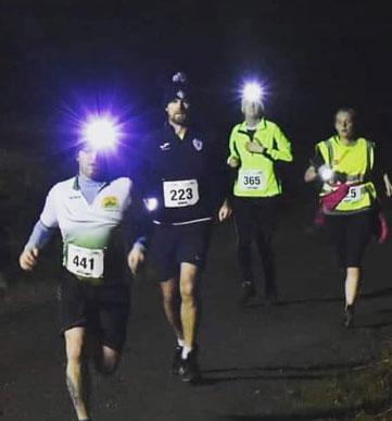 Lough Boora Night Run